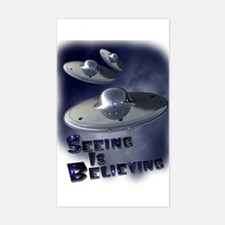 Seeing is Believing Rectangle Decal