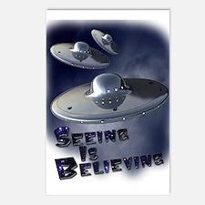 Seeing is Believing Postcards (Package of 8)