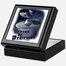 Seeing is Believing Keepsake Box