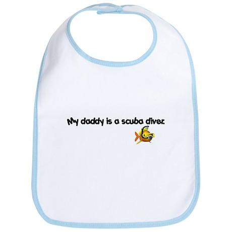 Daddy Scuba Diver Bib