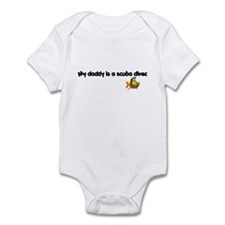Daddy Scuba Diver Infant Bodysuit