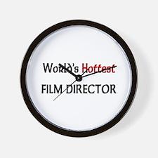 World's Hottest Film Director Wall Clock