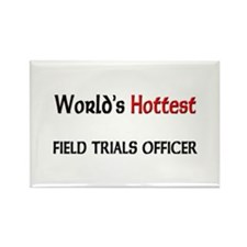 World's Hottest Field Trials Officer Rectangle Mag