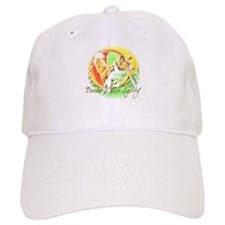 Agility Art Border Collie Baseball Baseball Cap