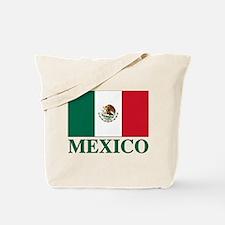 Mexico Flag Tote Bag