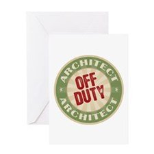 Off Duty Architect Greeting Card