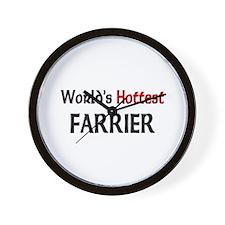 World's Hottest Farrier Wall Clock
