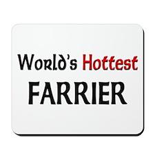 World's Hottest Farrier Mousepad
