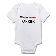 World's Hottest Farrier Infant Bodysuit