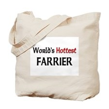 World's Hottest Farrier Tote Bag