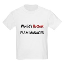 World's Hottest Farm Manager T-Shirt