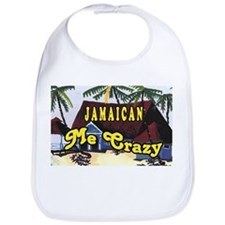 Jamaican Me crazy Bib