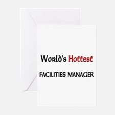 World's Hottest Facilities Manager Greeting Cards