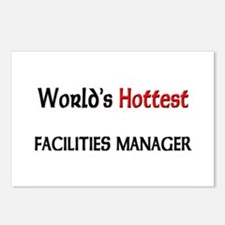 World's Hottest Facilities Manager Postcards (Pack
