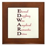 EDWARD Framed Tile
