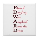 EDWARD Tile Coaster