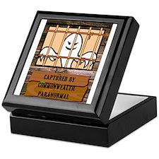 Funny Ghost hunting Keepsake Box