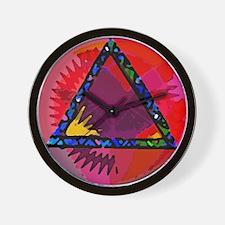 Spirit Mind Heart Wall Clock