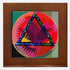 Spirit Mind Heart Framed Tile