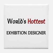 World's Hottest Exhibition Designer Tile Coaster
