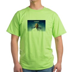 Change We Can Believe In - Green Obama T-Shirt