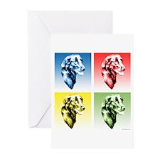 Flat-Coat Pop Art Greeting Cards (Pk of 20)