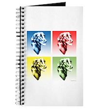 Flat-Coat Pop Art Journal