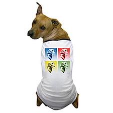 Flat-Coat Pop Art Dog T-Shirt