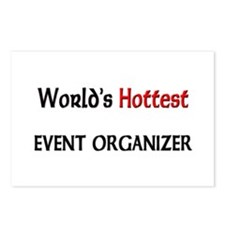 World's Hottest Event Organizer Postcards (Package