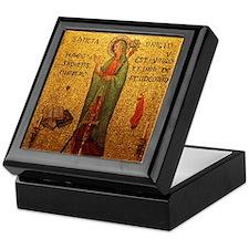 St Brigid of Ireland Keepsake Box