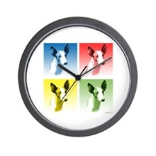 Ibizan Pop Art Wall Clock