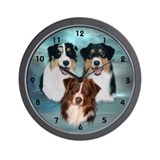 Australian shepherd Basic Clocks