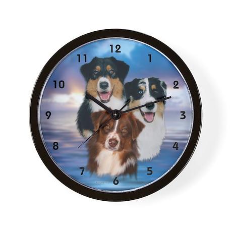 Aussie Wall Clock