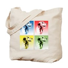 Wolfhound Pop Art Tote Bag