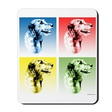 Wolfhound Pop Art Mousepad