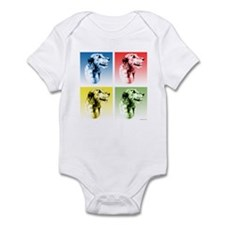Wolfhound Pop Art Infant Bodysuit