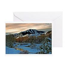 Baldy Sunrise Greeting Card
