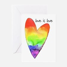 love is love Greeting Cards (Pk of 10)