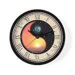Sun-Moon Yang Wall Clock