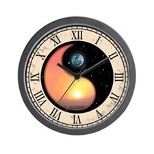 Sun-Moon Yang Wall Clock