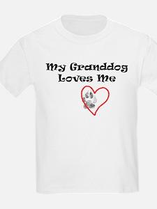 Granddog Love Kids T-Shirt
