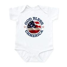God Bless Uhmerica Infant Bodysuit