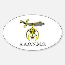 A,A.O.N.M.S. Decal