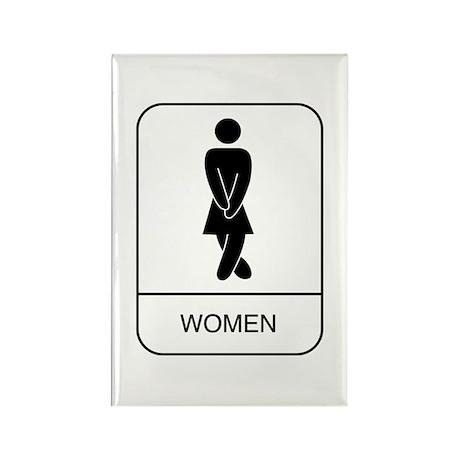 """Women"" Rectangle Magnet"