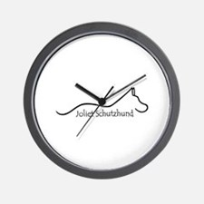 Unique Schutzhund Wall Clock