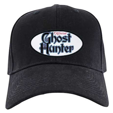 Official Ghost Hunter Black Cap