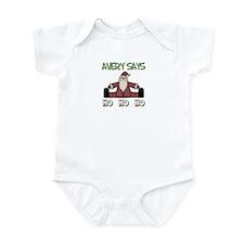 Avery Says Ho Ho Ho Infant Bodysuit