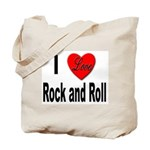 I Love Rock and Roll Tote Bag