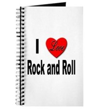 I Love Rock and Roll Journal