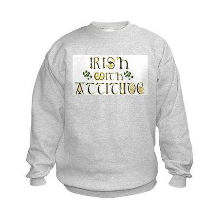 Irish with Attitude Kids Sweatshirt